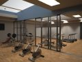 Gym (Corridor ( render of Archicad model ) by ArchicadTeam.com
