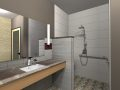 Shower room ( render of Archicad model ) by ArchicadTeam.com