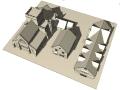 Urban enviroment BIM model