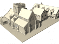 BIM architectural modelling ( old town )