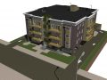 Archicad model of apartment building by ArchicadTeam.com